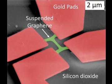 suspended graphene